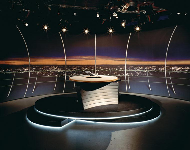 Дизайн телестудії